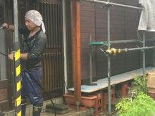 外壁塗装・シール・下地・防水工事のブラッチスタッフ日記-木部洗浄