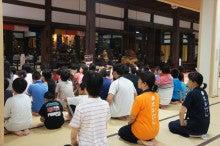 浄土宗災害復興福島事務所のブログ-20130726ふくスマおてつぎお勤め01