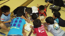 浄土宗災害復興福島事務所のブログ-20130728ふくスマおてつぎサイン交換
