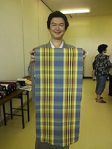 はすのやにっき-延岡木綿展1309その3