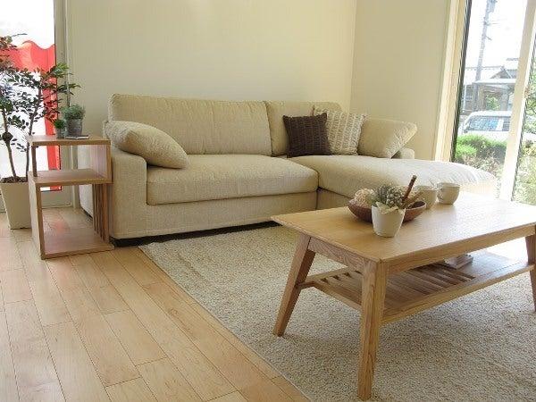 家具なび-タモ材の家具を中心にコーディネートした実例