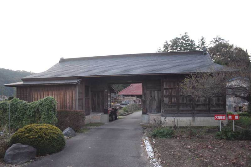 喜連川城/移築門