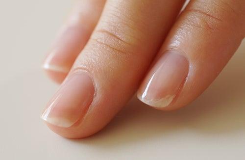 ジェルネイルオフの爪