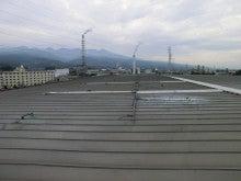 屋上遮熱工法のルーフシェード