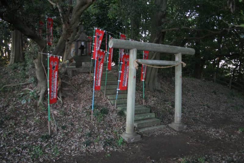 柏原城/稲荷神社