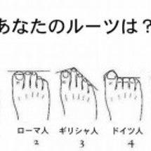 足の形から