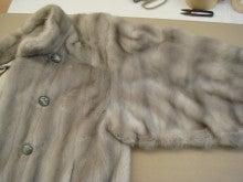大木毛皮店工場長の毛皮修理リフォーム-ミンクコートのリフォーム