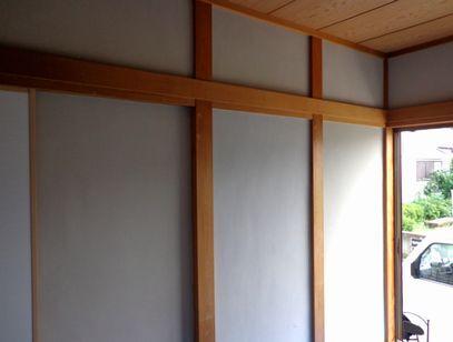 体に優しく 居心地の良いお部屋に。珪藻土・漆喰で塗り壁施工&塗り替え-白のじゅらくリフォーム