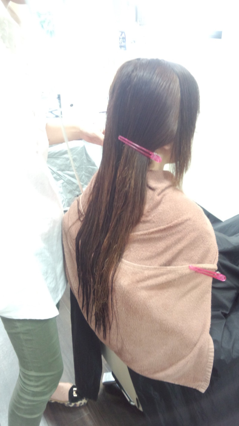髪の毛 ジリジリ