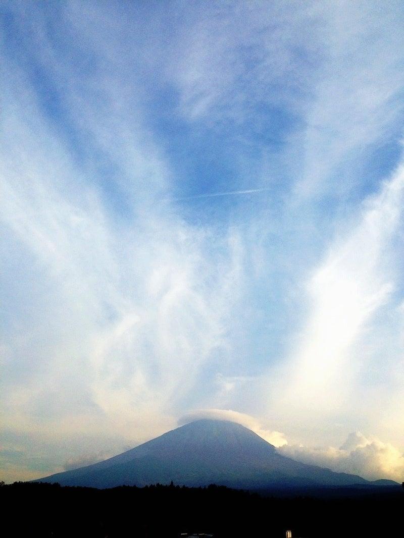 富士山に UFO!!!の記事より