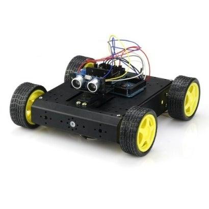 $おとなの電子工作-4WD ロボットプラットフォーム