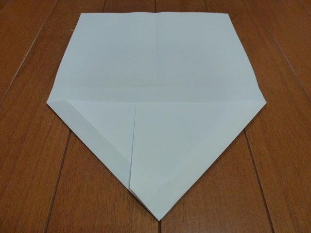 折り紙飛行機の折り図と折り方動画 - 紙 ...