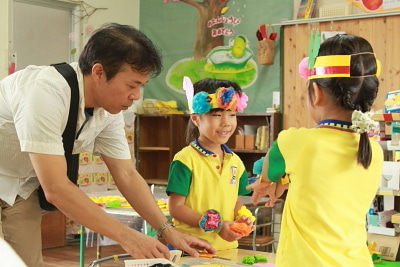 若草幼稚園-参観日9月7