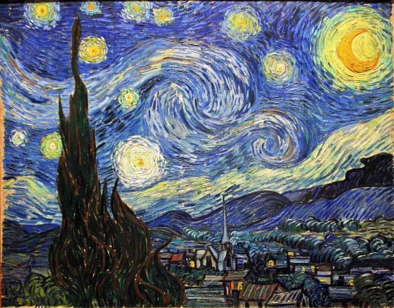夜の絵画 | れぽれろのブログ