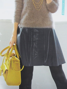 神戸のカラーリスト スタイリスト  トータル素敵プロデューサー☆みつこのブログ-レザースカート