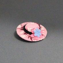 モルモットの帽子(ライトピンクF:ピンクブルーF)