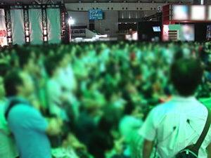 「コジブロ」コナミ小島プロダクション公式ウェブログPowered by Ameba-イベント映像はスクリーンでも