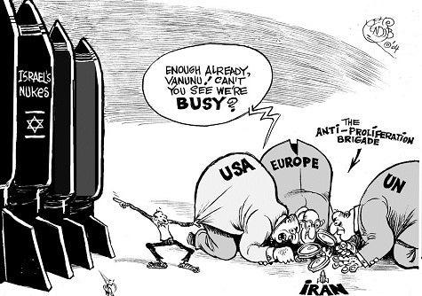イスラエルの核は黙認 イランの...