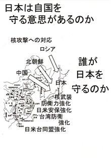 $日本人の進路-誰が日本を守のか