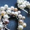 ■豪華な銀製(SV925)淡水パールの帯留。訪問着や振袖、華やかなお着物におすすめ。の画像