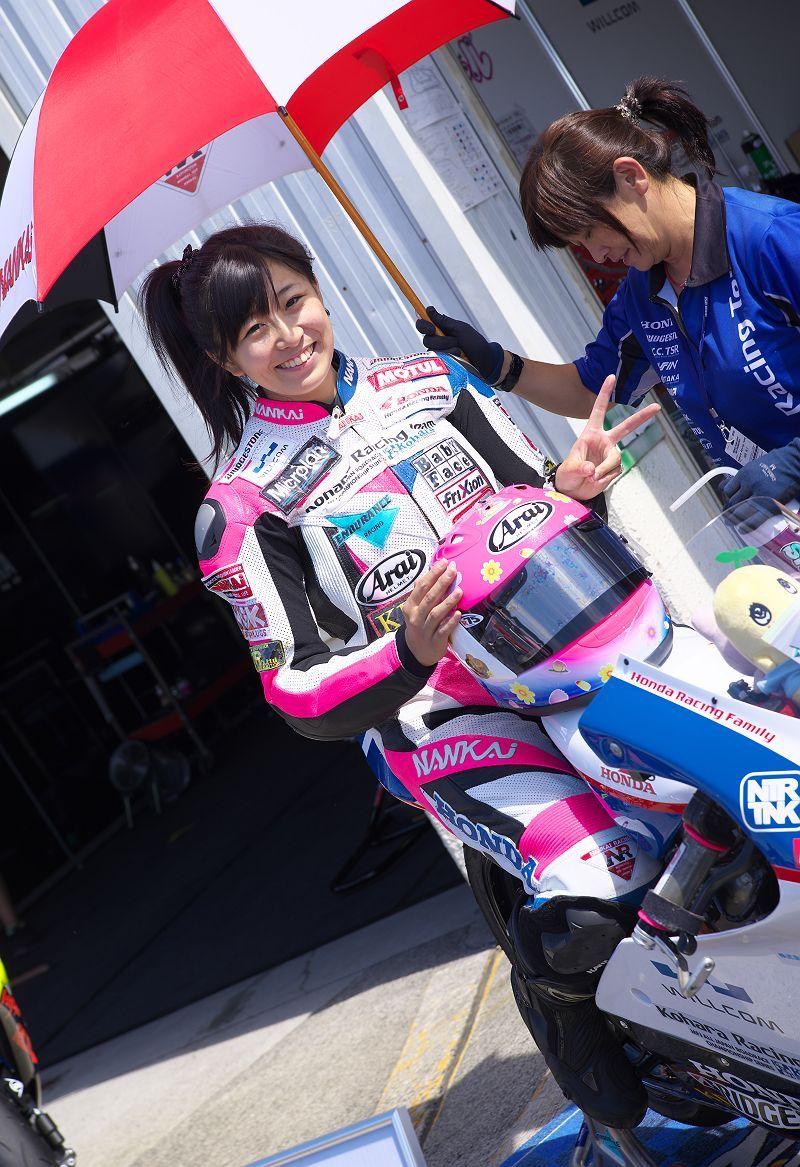スーパーバイクレース In 岡山 【女性レーサー】編 Syuzoの画像ブログ