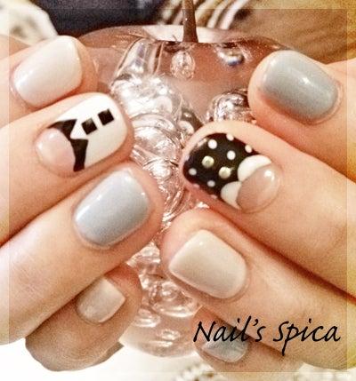 ★Nail's spica★広島市中区のネイルサロン     完全オーダーメイドのデザインネイル