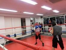 拳闘日記/AKIRAの拳に夢を乗せて-スパー