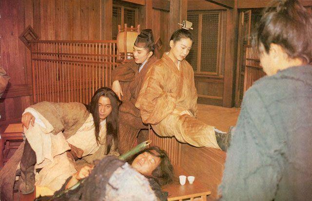 92年11月2日《楽園の瑕/東邪西毒》ポスター撮影2 | レスリー ...