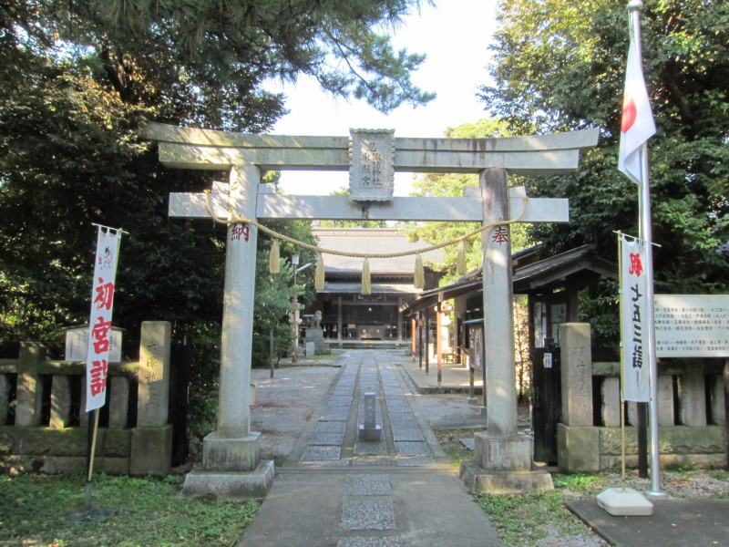 忍城/諏訪神社