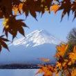 去年の富士山写真
