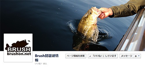 $BRUSH 琵琶湖 バスフィッシング 情報 アメブロ版