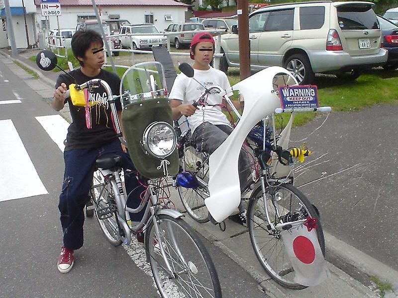 自転車暴走族現る! | みっちゃんのワンダフル・モーメント