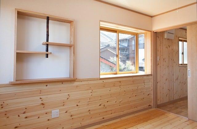 北陸富山の大工棟梁『肥塚建築』 建物・自然探訪-寝室02