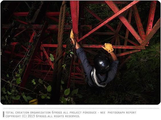 6Frogs 小鹿野町三山 廃吊橋 廃橋