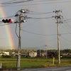 2重の虹の画像