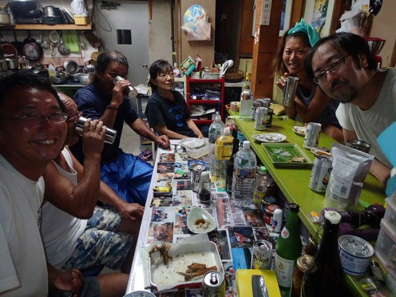 歩き人ふみの徒歩世界旅行 日本・台湾編-おじーの友人宅
