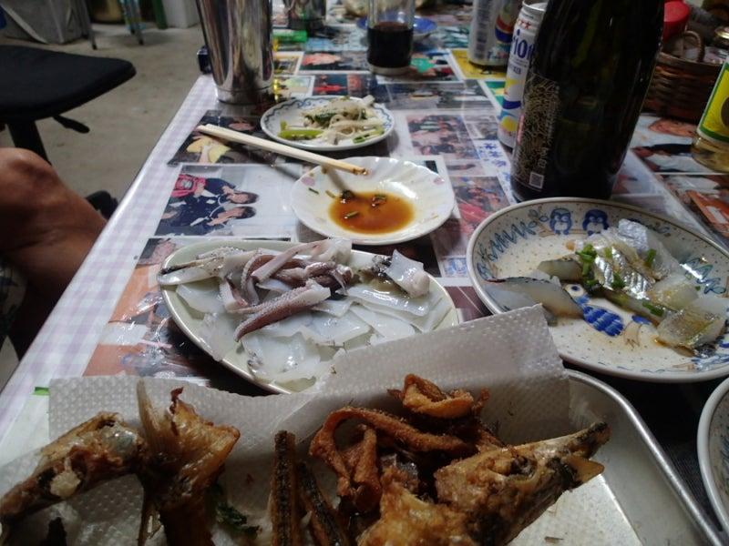 歩き人ふみの徒歩世界旅行 日本・台湾編-島の魚料理