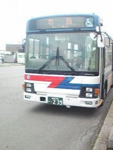 $メイブレラン潟さんのブログ-松前行きバス