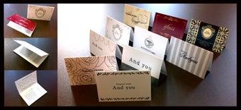 名刺ご購入者様・観覧者様からのデザインコメントをご紹介!!名刺・名刺作成・名刺印刷・名刺デザイン デザイン名刺の名刺広芸-二つ折り ポイントカード スタンプカード
