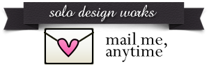 $:::solo design works:::ポーセラーツ オリジナル転写紙制作