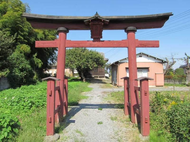 大越館/八幡神社