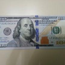 新100ドル紙幣☆