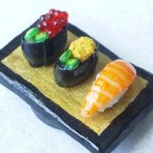 ☆3種のお寿司マグネ…