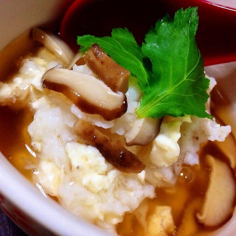 豆腐と山芋の茶碗蒸し