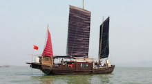 海南潜水 hainandivingのブログ-古代舟7