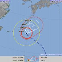 台風27号、沖縄本島…