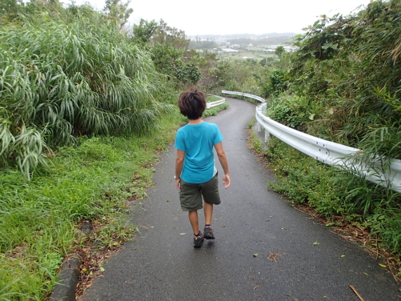 歩き人ふみの徒歩世界旅行 日本・台湾編-台風散歩