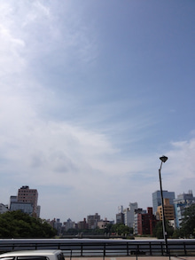シネマと書店とライブハウス ~ 映画と本と音楽と ~-広島の空