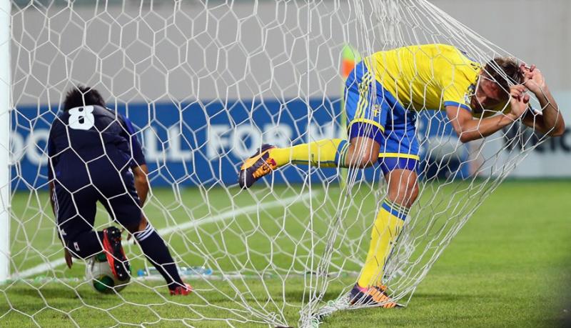 サッカー 日本代表 U-17ワールドカップ 決勝トーナメント スウェーデン戦