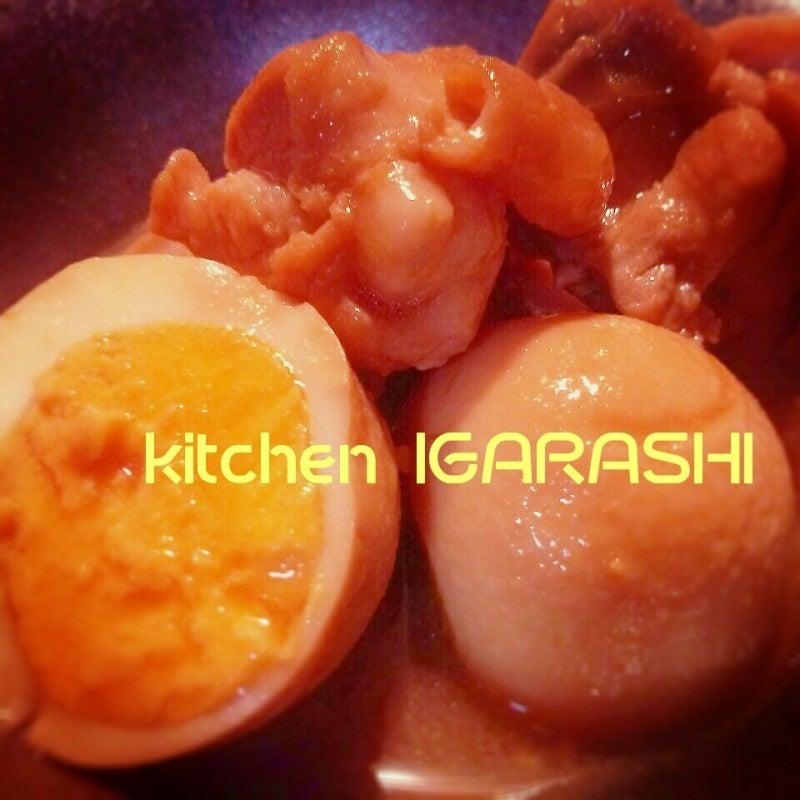 鶏肉と卵の照り煮♪